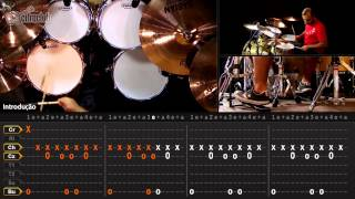 Like a Stone - Audioslave (aula de bateria)