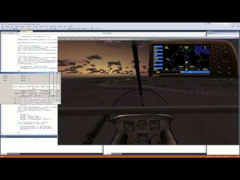 Prepar3D | FSX | C# | FSUIPC SDK | GPS Autoland | PID control | Tutorial |  Manual | Часть 3