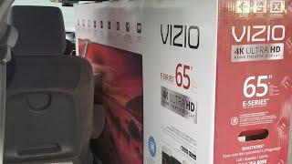Vizio E65-01series UnBoxing 65