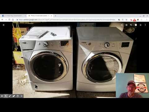 Parting Out A Washer To Sell On Ebay