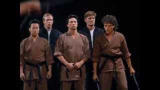 Mission of Justice: The Gauntlet Scene Jeff Wincott as Kurt Harris