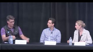 EdTech Plenary Panel with Peter Bergman, Tory Patterson, and Amy Klement