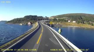Stavanger- Bergen a sunny afternoon