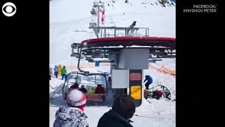 Georgia Ski Lift Failure Sends People Flying Into Air, At Least 10 Injured