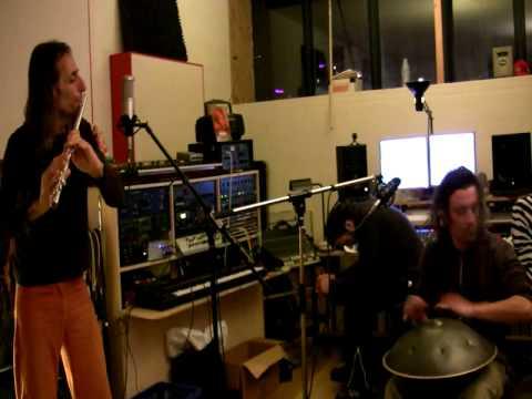 Hang and Flute studio recording - Avi Adir & Davide Swarup-HD - from the album 'Boomerang Dream'