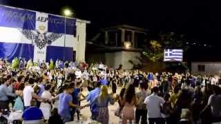 Πανηγύρι Δερβιτσάνης 2014 - Χορός Νεολαίας (HD)