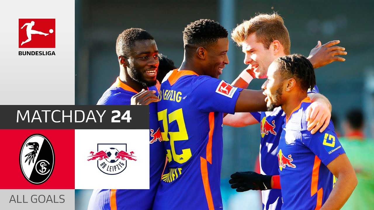Leipzig go top! | SC Freiburg - RB Leipzig | 0-3 | All Goals | Matchday 24 – Bundesliga 2020/21