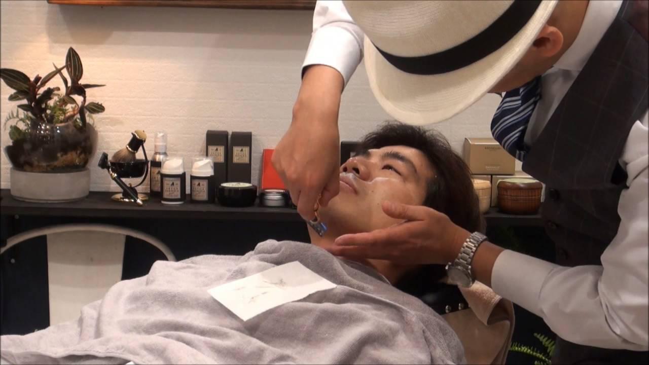 Traditional Barber Japanese Style Shaving Youtube