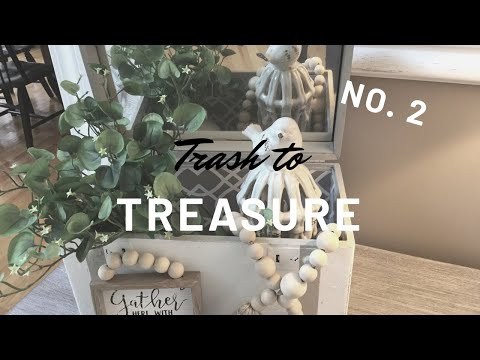⭐️TRASH TO TREASURE⭐️ | FARMHOUSE DECOR | THRIFT STORE MAKEOVER NO. 2 | DECORATE WITH ME