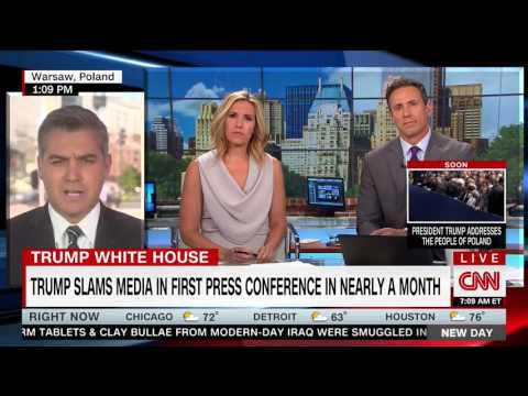 CNN's Jim Acosta: Trump's news conference was a 'fake news conference'