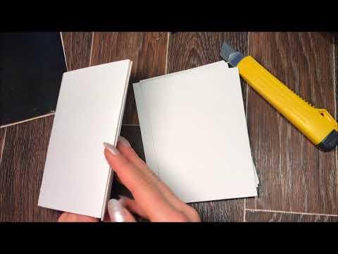 DIY  скетчбук, самый легкий способ