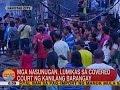 UB: Mga nasunugan, lumikas sa covered court ng kanilang barangay