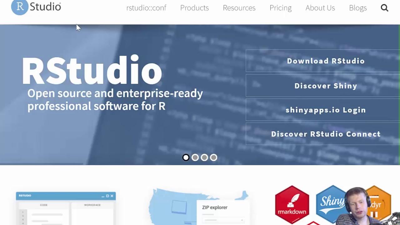 117db0e52bf R Basics 1 - R Console or R Studio  - YouTube