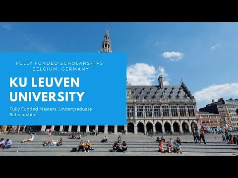 KU Leuven University Fully Funded Scholarships 2019 | Belgium