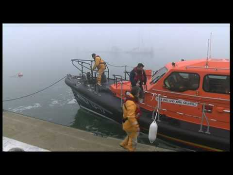 Lifeboat Legacy - A new Shannon Class lifeboat heads to Skegness