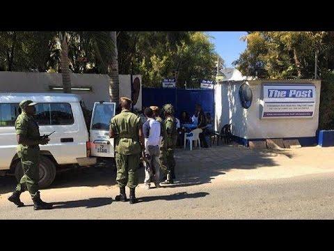 Zambia's revenue authority disregards tribunal order to reopen newspaper