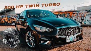 2018 ($40,000) Infiniti Q50 3.0t AWD QUICK REVIEW (TWIN TURBO!!)