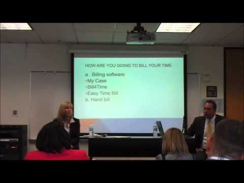 LPMS 2015 Part 1 - Nuts & Bolts of Starting a Law Firm