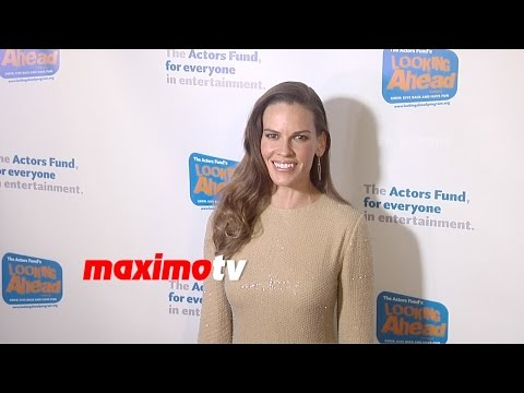 Hilary Swank  Looking Ahead Awards 2014  Red Carpet