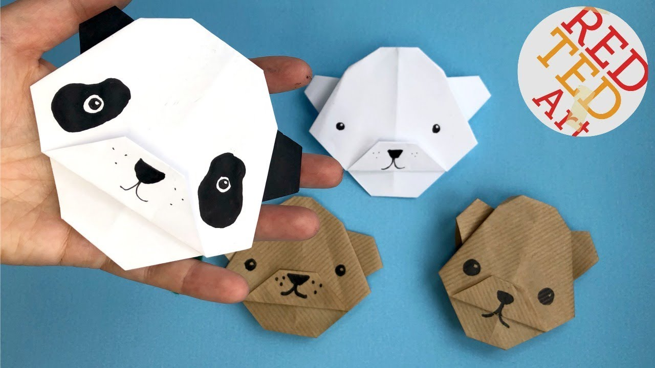 Origami for Kids - Origami Mouse - Origami Animals - YouTube | 720x1280