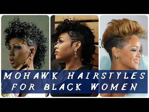40 Best mohawk hairstyles for black women