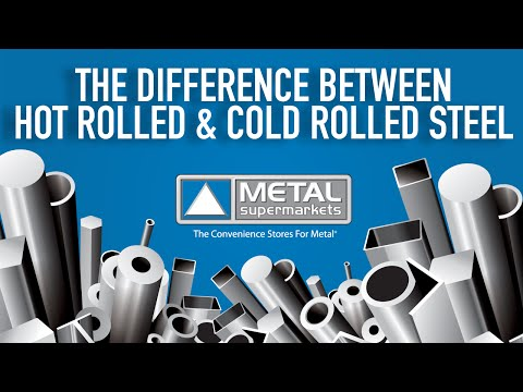 Difference Between Hot and Cold Rolled Steel | Metal Supermarkets