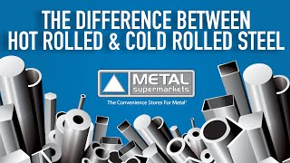 The Difference Between Hot Rolled and Cold Rolled Steel