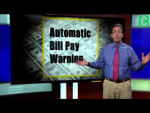 Warning: Automatic Bill Pay