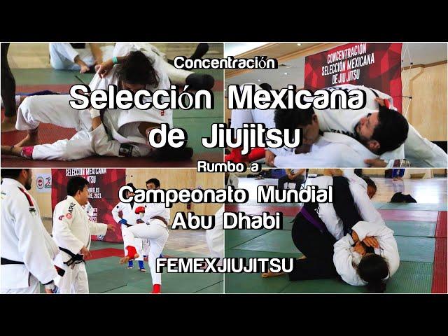 Concentración de Selección Mexicana de Jiujitsu, rumbo a Campeonato Mundial Abu Dhabi