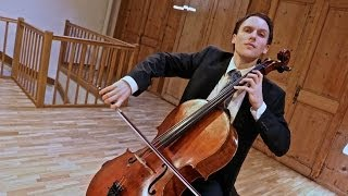 Bach Cello Suite No. 5 in c minor BWV 1011 - Live in Concert - Sebastian Diezig