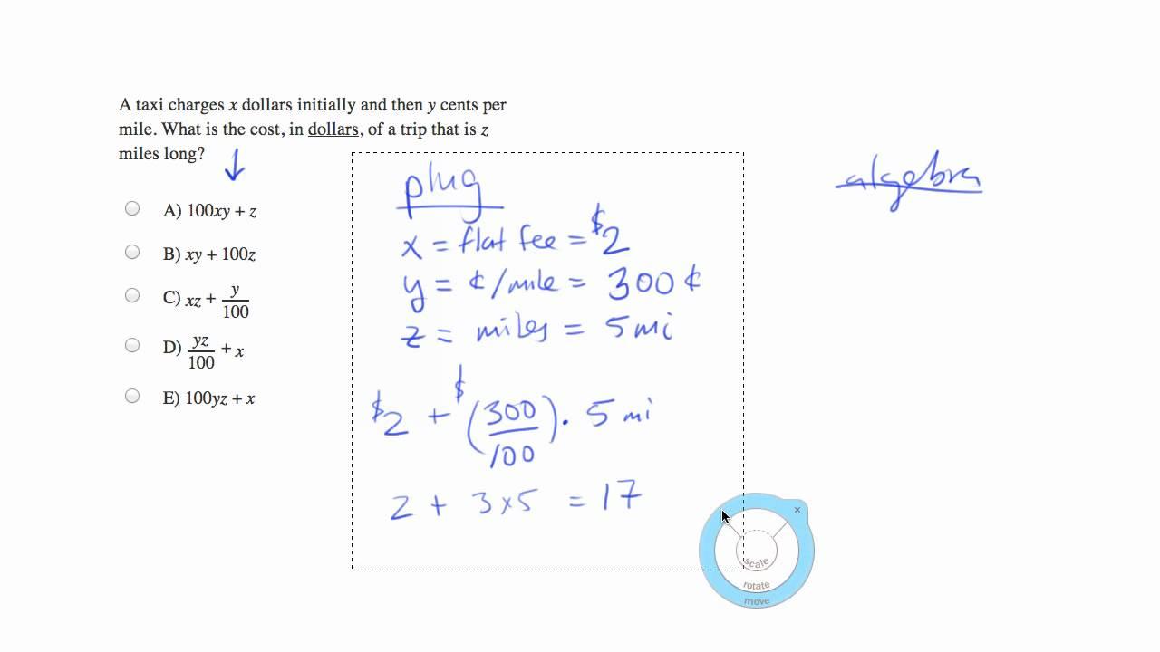 Taxi fare calculation mp4