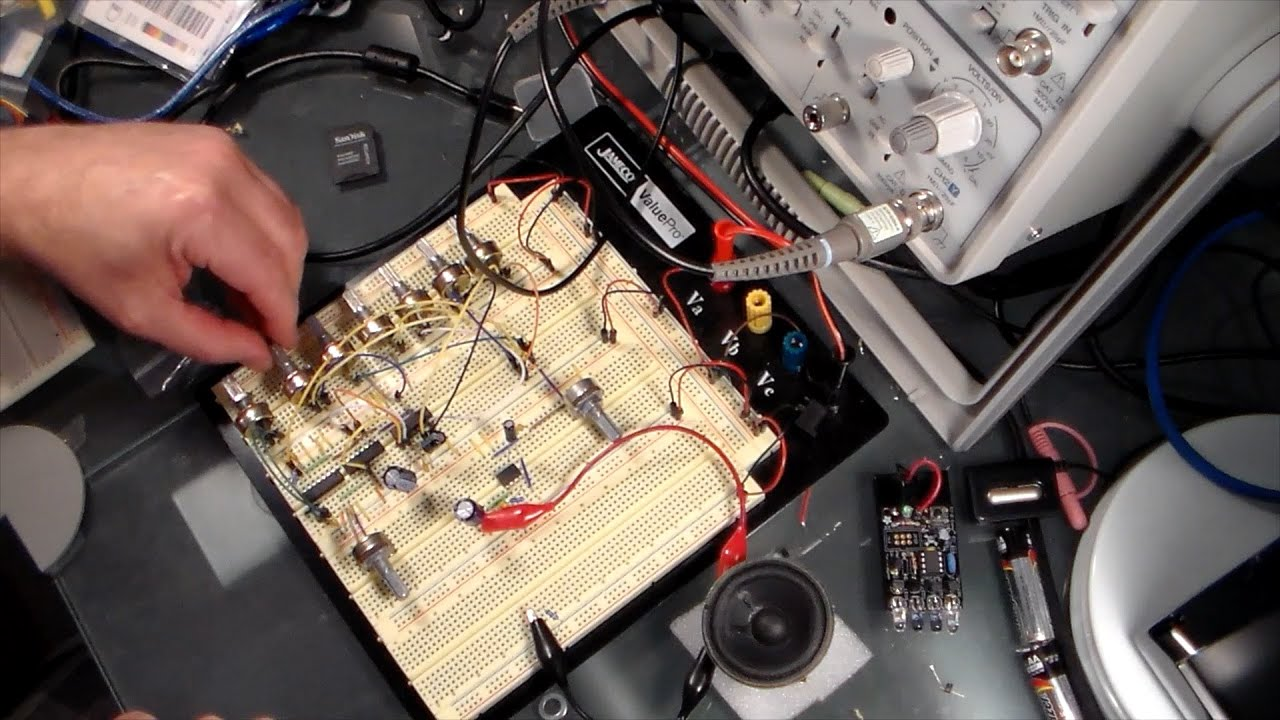 how to make a homemade synthesizer