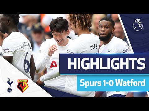 Heung-min Son's goal keeps Spurs off to a perfect start to the season!  HIGHLIGHTS |  SPURS 1-0 WATFORD