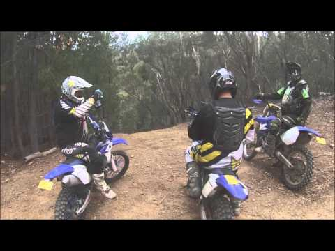 Lake Eildon The Pines 2015 Melbourne Cup Weekend Dirt Bike Riding
