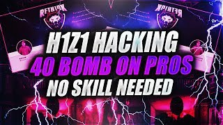 H1Z1 - EASY 40 KILLS AGAINST PRO PLAYERS WITH HACKS!