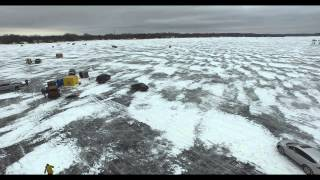 Inspire 1 4K footage - Medicine Lake, MN - January 2015