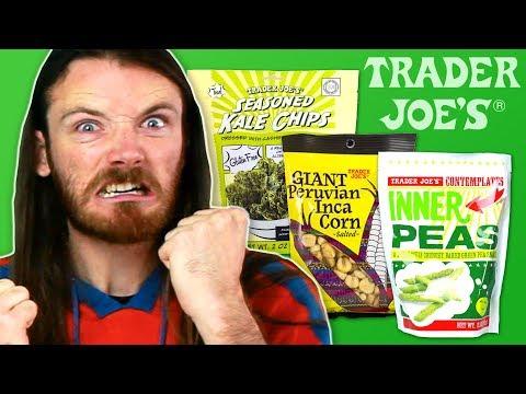 Irish People Try American Vegetable Snacks