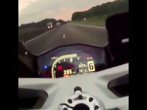 Ducati 1299 Panigale Top Speed Onboard 300 Hd Youtube