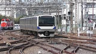 737M E531系 K461編成 水戸駅到着