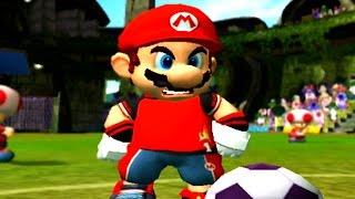 SUPER MARIO STRIKERS - O JOGO DE FUTEBOL DO MARIO !!! (Gameplay GameCube)