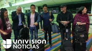 Jorge Ramos y su equipo llegan a Miami tras ser deportados por entrevista con Maduro