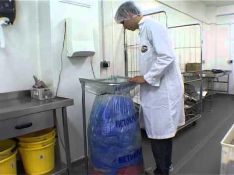 Mil-tek baler for plastic at a food industry, Dorset Cereals