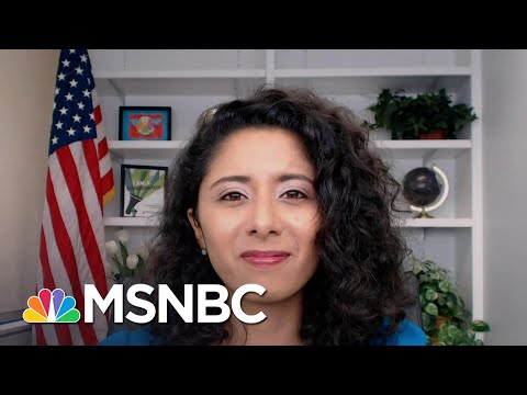 Harris County, TX Judge Lina Hidalgo On The 'Collective Anxiety' She's Hearing From Voters   MSNBC
