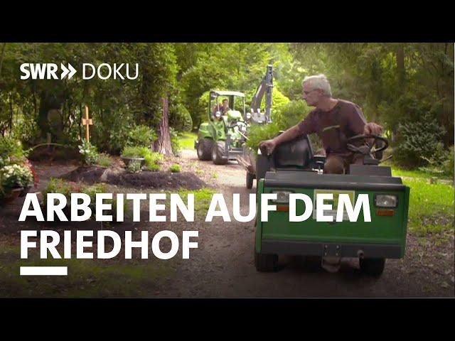 Wir helfen beim Abschied - Arbeiten auf dem Stuttgarter Waldfriedhof | SWR Doku