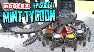MAKING PLATINUM COINS - ROBLOX MINT TYCOON ADVANCE MODE #11