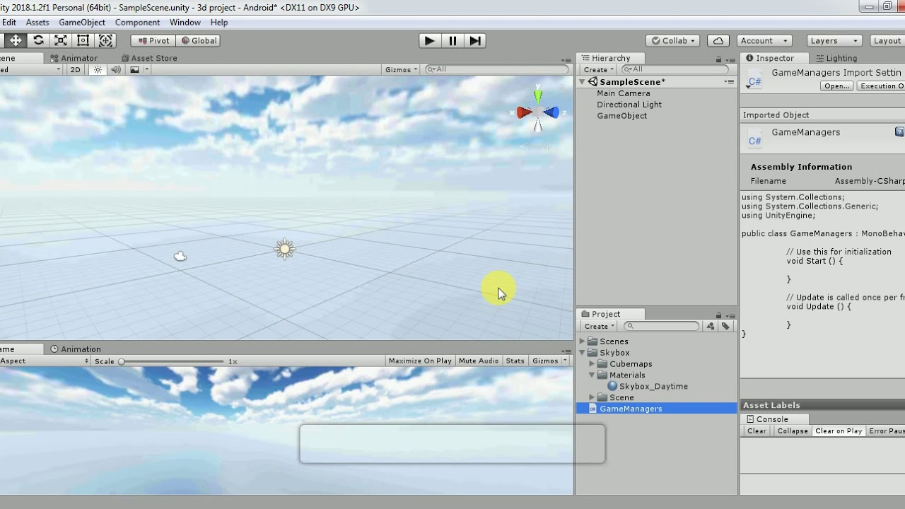 How to move Skybox in Unity   Rotate Skybox in Just 1 line of code   Unity3D