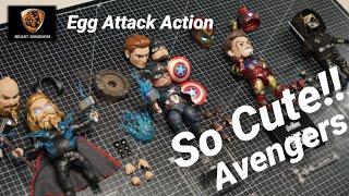 [Beast Kingdom] So Cute! Egg Attack Action Figure Avengers! …