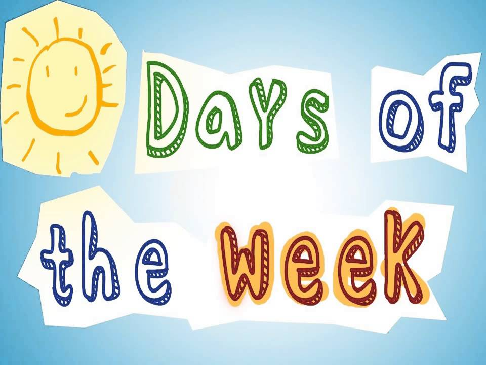 Days of the Week Flashcards|Flashcards for Kids, ESL, EFL Learning ...