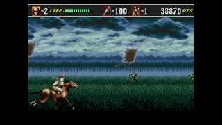 Shinobi III: Return of the Ninja Master (Mega Drive) ~ Longplay [PAL / 50Hz]