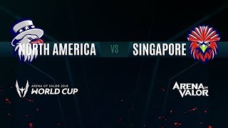 NA vs SG | Group Stage Day 3 | AWC 2018